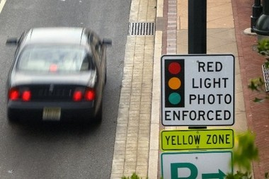 Accidents in South Plainfield are up 50 percent near red light cameras on the border of Piscataway according to a study by The Alternative Press of South Plainfield.