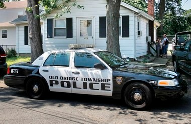 Old Bridge police are investigating a crash that critically injured two teens early this morning. Above, a police car in a file photo.