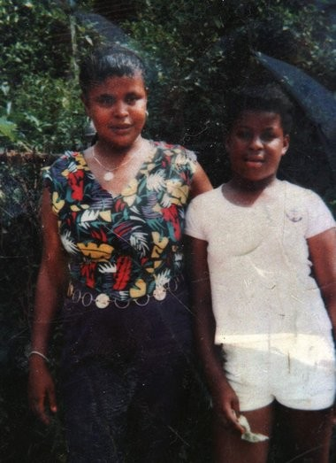 "Nikki Adams, right, with her mother Carolyn ""Sissy"" Adams in an undated picture."