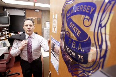 Capt. Bruce Polkowitz, president of the Superior Officers Association in Edison, says Chief Thomas Bryan used bad judgment in shopping for a bicycle while on duty. (Andrew Mills/The Star-Ledger)