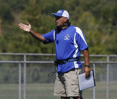Sayreville head football coach George Najjar. (Amanda Brown | Star-Ledger file photo)