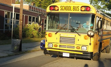 A bill, known as Abigail's Law, if signed by the Governor, would require motion sensors on the front and back of new school buses for safety.