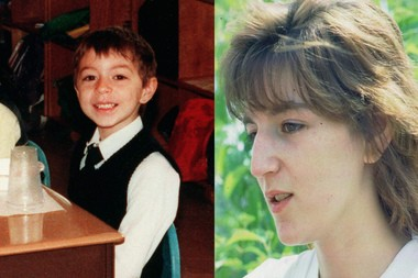 Timothy Wiltsey, who was 5-years-old and in kindergarten when he vanished, and Michelle Lodzinski at the time of her son's disappearance in 1991. (Star-Ledger file photo and AP file photo)