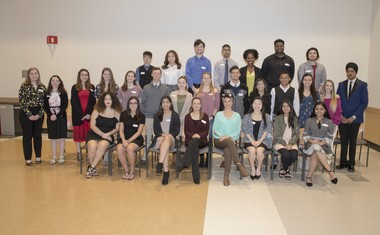 The 2018 Middlesex County Guidance Council Caring Award recipients.
