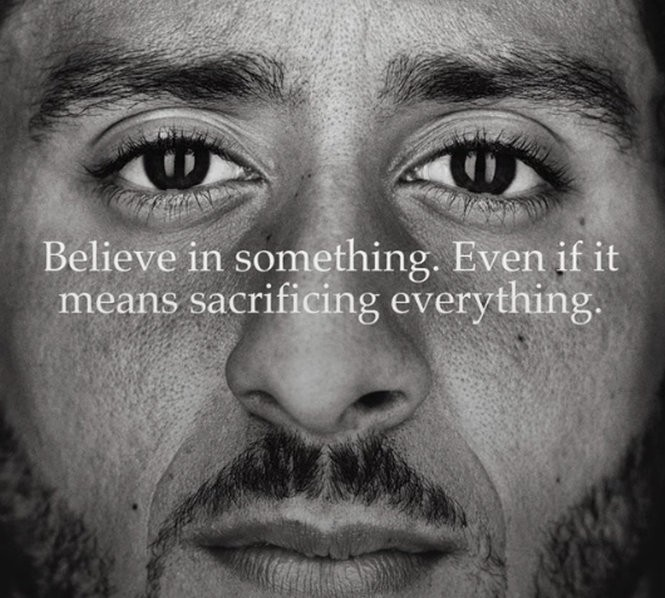 info for f15a2 65b73 Colin Kaepernick's Nike commercial finally aired. Here's how ...