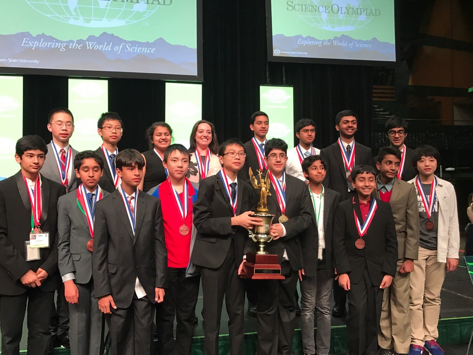 Science Olympians triumph at national competition - nj com