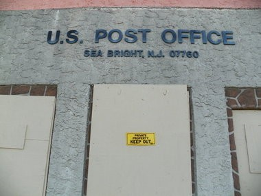 The U.S. Postal Service has informed Sandy-ravaged Sea Bright that it plans to close its post office and move all of its operations to neighboring Rumson.