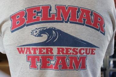 The Belmar Water Rescue Team rescued a swimmer off Third Avenue beach.