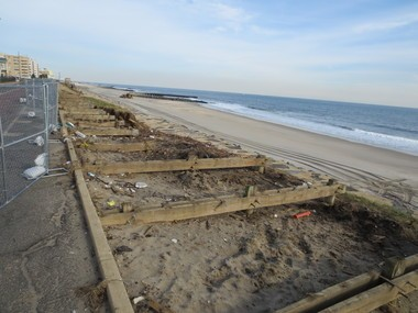 The older portion of Long Branch's boardwalk in Dec. 2012, about a month after it was destroyed by Hurricane Sandy. (Rob Spahr   NJ Advance Media for NJ.com)
