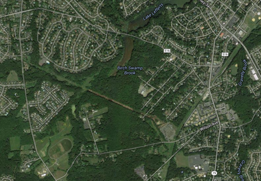 The Monmouth County Board of Chosen Freeholders has authorized spending $10.6 million to acquire a 87.8-acre parcel, which sits between New Brunswick (CR 516) and Wilson avenues in Aberdeen and Marlboro townships. (Google Maps)
