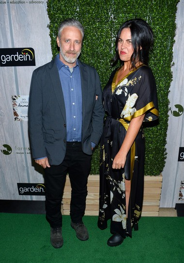 Jon Stewart and Tracey Stewart attend the 2015 Farm Sanctuary Gala at The Plaza Hotel on October 24, 2015 in New York City. (Photo by Grant Lamos IV/Getty Images)