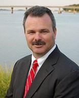 Michael Mahon, mayor of Oceanport for eight years.