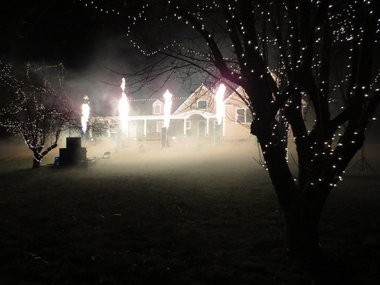 The annual Christmas Light Show on Woolley Road in Wall draws thousands of spectators every year. (Rob Spahr | NJ Advance Media for NJ.com)