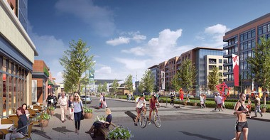 The new property will be named the Monmouth Town Center. (Photo courtesy of Kushner Companies)