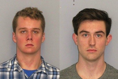 Liam McAtasney, left, and Preston Taylor, were charged with killing Sarah Stern. (Courtesy of the Monmouth County Prosecutor's Office)