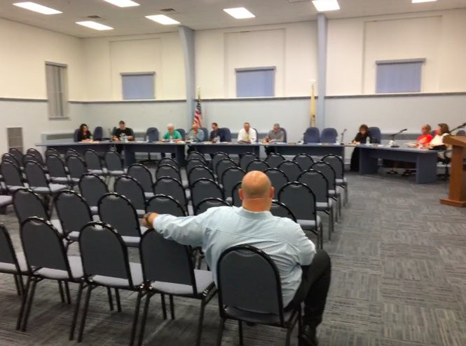 Exactly one member of the public showed up at a Freehold Regional High School District meeting Wednesday night, when the district's lunchtime crowding was discussed.