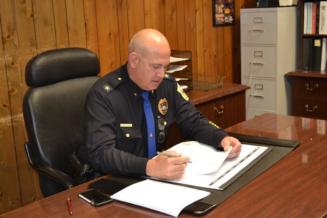 Belmar police Chief Andrew Huisman. (Alex Napoliello | NJ Advance Media for NJ.com)