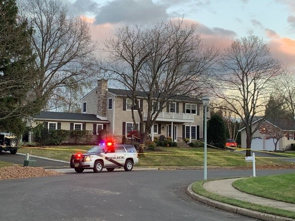 Paul Caneiro's home on Tilton Drive in Ocean Township. He was charged Wednesday morning with intentionally setting it on fire. (Sophie Nieto-Munoz | NJ Advance Media for NJ.com)