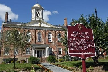 The Morris County Courthouse in Morristown.