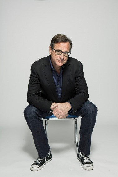 Bob Saget performs at the Music Box Theatre at the Borgata Hotel and Casino on July 19.
