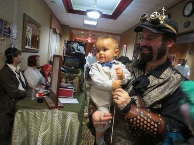 The Steampunk World's Fair attracted thousands of people to the Radisson and Embassy Suites in Piscataway in May. Like the upcoming Steampunk City in Morristown, the event was run by Jeff Mach Events.