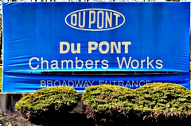 Dupont Logo from Deepwater facility