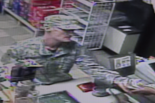 Authorities say the man pictured in this photo robbed a convenience store in the Millington section of Long Hill on Saturday, Feb. 25.