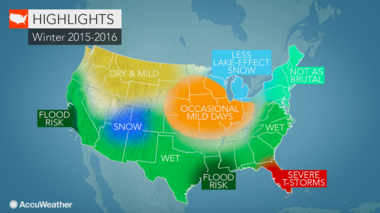 AccuWeather plays it safe. Not as brutally cold is a safe bet for New Jersey.