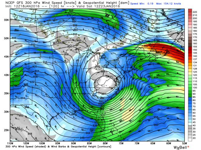 A significant trough is expected to develop in the northeast this week, allowing cold air to remain entrenched.