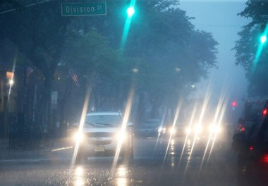 Driving during a thunderstorm can be dangerous, and even deadly, as was the case in New Jersey on Monday, July 18. (Ed Murray | NJ Advance Media for NJ.com)