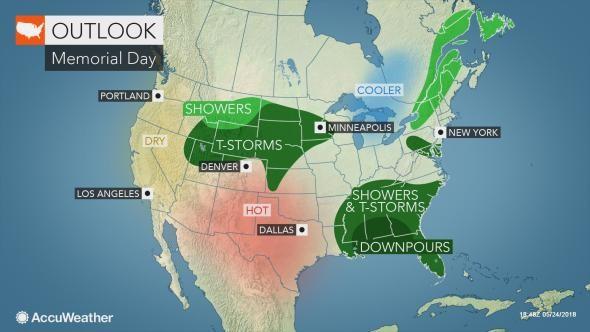 N J  weather update: Memorial Day weekend forecast starts