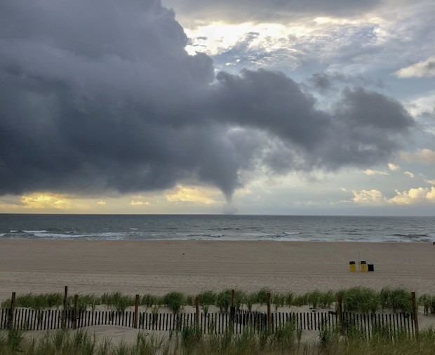 2 waterspouts touched down off Jersey Shore during Monday's storms