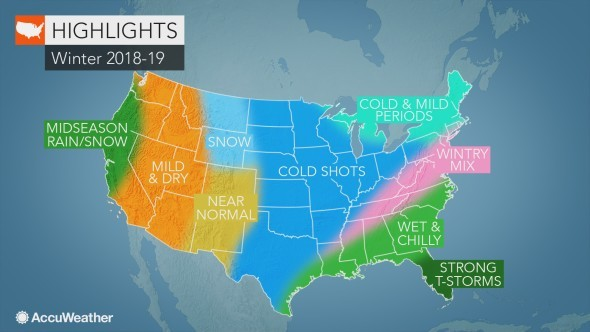 Noaa Winter 2020 Predictions.Should N J Brace For A Snowy Winter Here S What 5