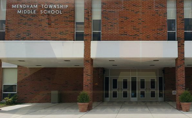Mendham Township Middle School was one of 11 New Jersey schools named a National Blue Ribbon Award winner.