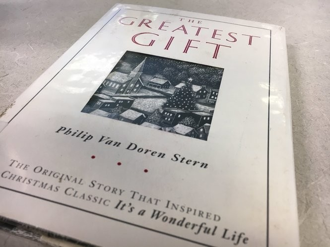 """An edition of """"The Greatest Gift"""" published in 1996 to mark the 50th anniversary of the film """"It's a Wonderful Life"""". (Kelly Heyboer 