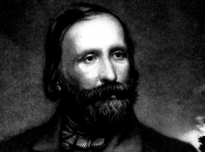 Giuseppe Garibaldi, an Italian general and war hero from the 1800s, who inspired an award for New Jersey high school students. (File photo)