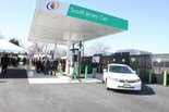 From 2012: South Jersey Gas hosts the grand opening ceremony of the Glassboro compressed natural gas fueling station. Staff photo by Calista Condo