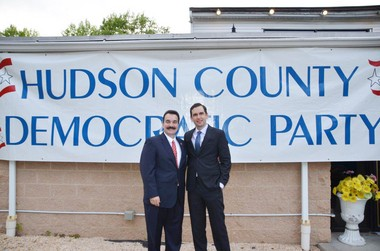 Assembly Speaker Vinnie Prieto, left, and Jersey City Mayor Steve Fulop were headliners at the Hudson County Democratic Organization's annual dinner this week. Unity is always the theme. It was an impressive showing.