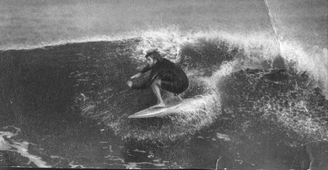 Surfing the pier in the 1970s: To put it in Hobbesian terms, some of the rides could be nasty, brutish and short.