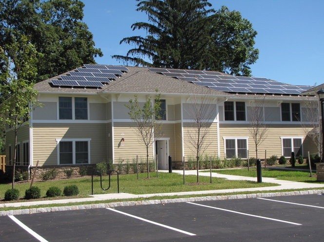 The Drakestown Road Apartments in Washington Township (Photo courtesy Homeless Solutions)