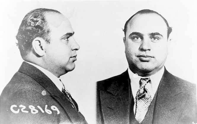 On Feb. 14, 1929, seven Chicago gangsters were murdered by four members of a rival gang led by Al Capone.