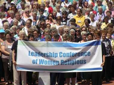 Earlier this year, some 700 members of the Leadership Conference of Women Religious stood on the steps of the Old Courthouse in St. Louis as a public witness against racism.
