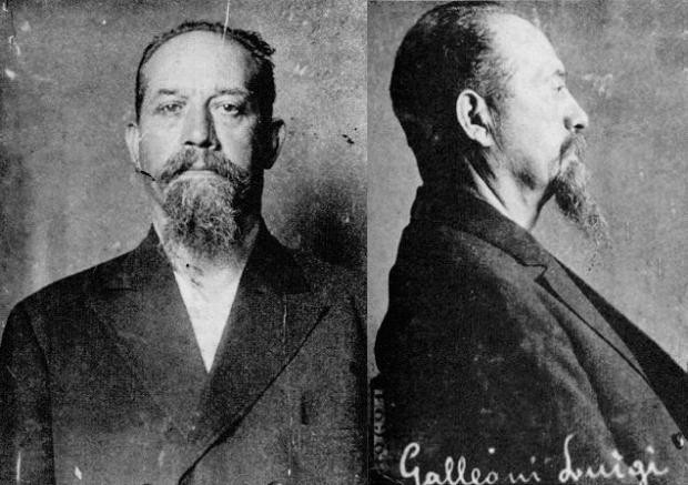 Luigi Galleani, an Italian anarchist, immigrated to the United States in 1901. (Library of Congress)
