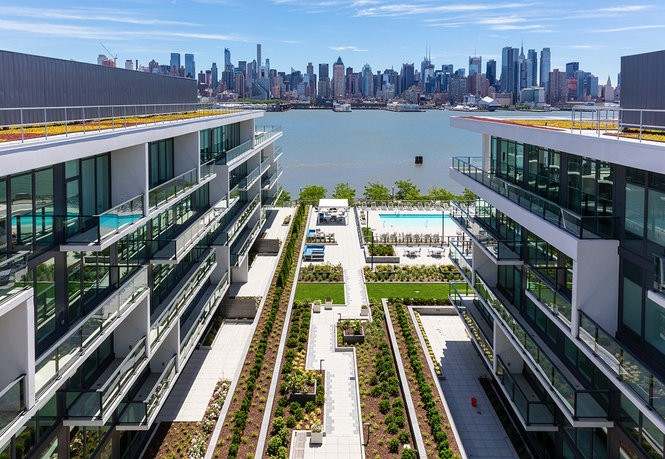 1200 Avenue at Port Imperial, Lennar's collection of luxury condominium residences on Weehawken's Hudson River waterfront.