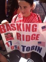 Basking Ridge natives attend parade to cheer on Tobin Heath