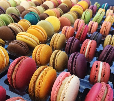 French macaron collections from Asalt and Buttery Bake Shop in Little Falls, 20 for $40. (Handout)