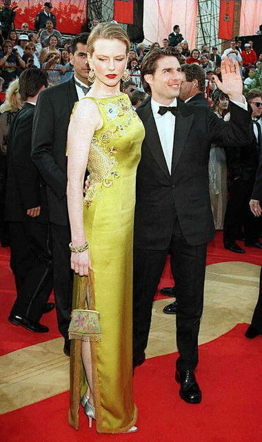 Tom Cruise with former wife Nicole Kidman: Scientology has its critics, but how many Universalists are boffo at the box office?