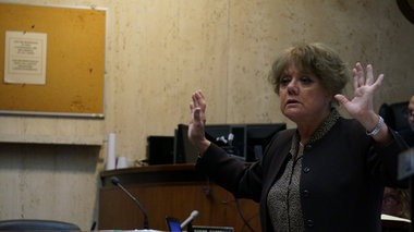 Essex County Assistant Prosecutor Betty Rodriguez delivers her closing statement on Wednesday, Oct. 28, at the trial of Bloomfield Police Officers Sean Courter and Orlando Trinidad, who are facing official misconduct and related charges in connection with a 2012 arrest on the Garden State Parkway. (Bill Wichert | NJ Advance Media for NJ.com)