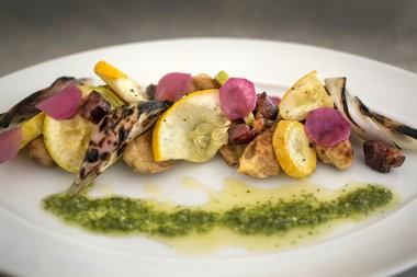 Gnocchi primavera with squash, spring onions and pistou at NoLa by Brian in Stockton. (Michael Mancuso | For NJ.com )