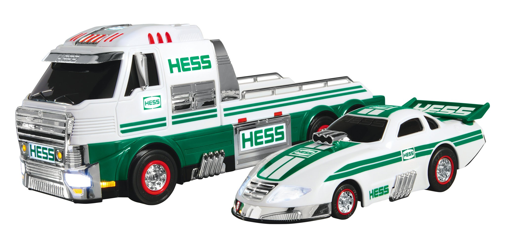 2016 Hess Toy Truck and Dragster NEW SOLD OUT at HESS DIRECT SEALED BOX